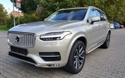Dovoz automobilu Volvo XC90 Inscription D5 AWD 173kW Polestar