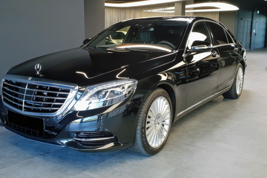 Mercedes-Benz S 350d Long, DovezuAuto.cz